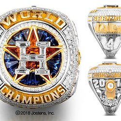 Elaborate World Series Rings Use Gemstones to Tell the Story of Astros' First-Ever Championship