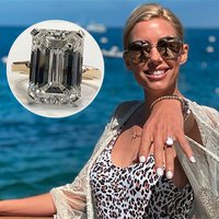 HGTV Star Tarek El Moussa Thrills Heather Rae Young With Lucky 8-Carat Diamond